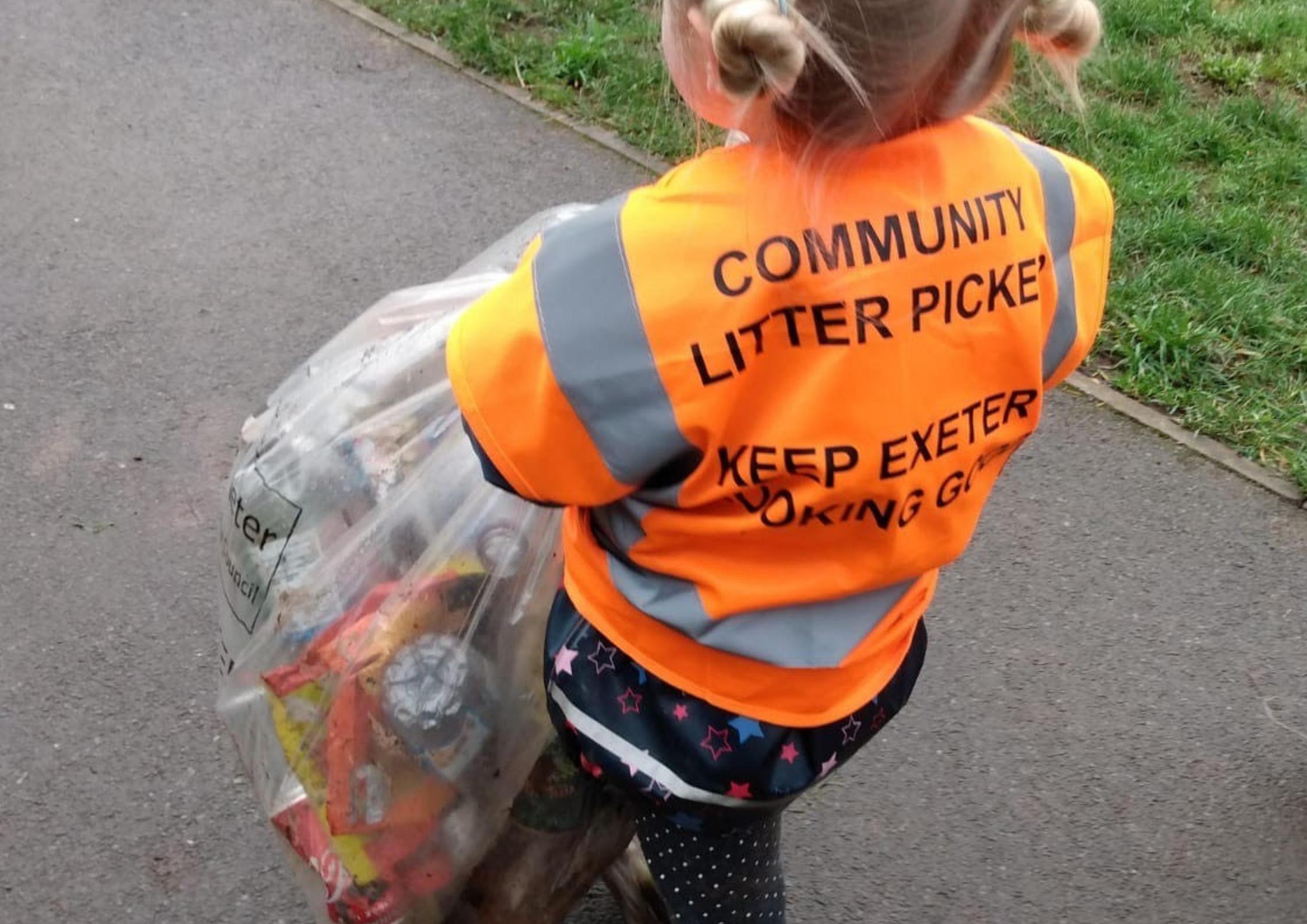 Little Litter Picking Champs