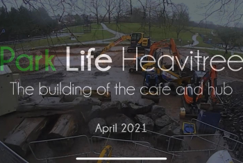 Time lapse footage of month two on the build site